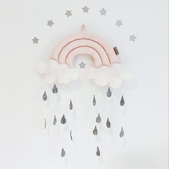 Nordic Style Clouds & Stars Kid's Bedroom Decorations
