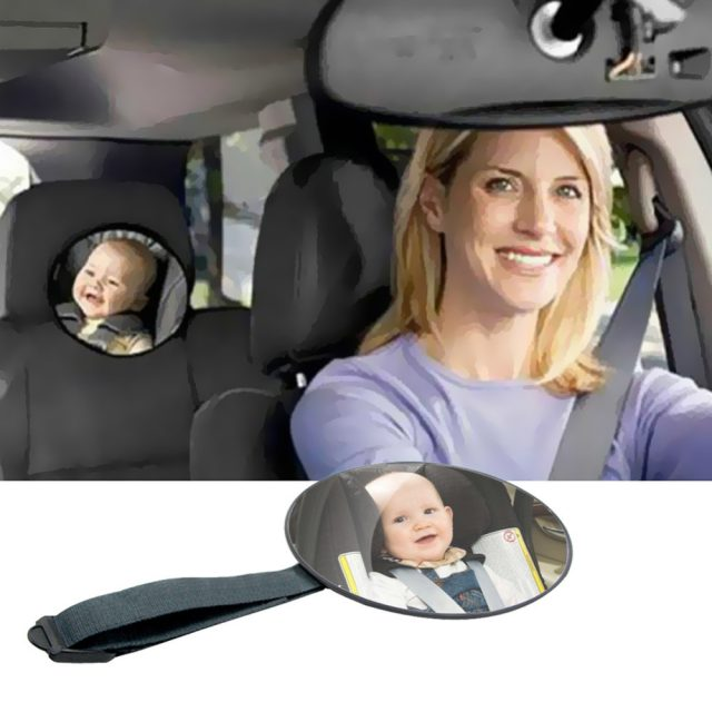 Baby's Car Back Seat Mirror