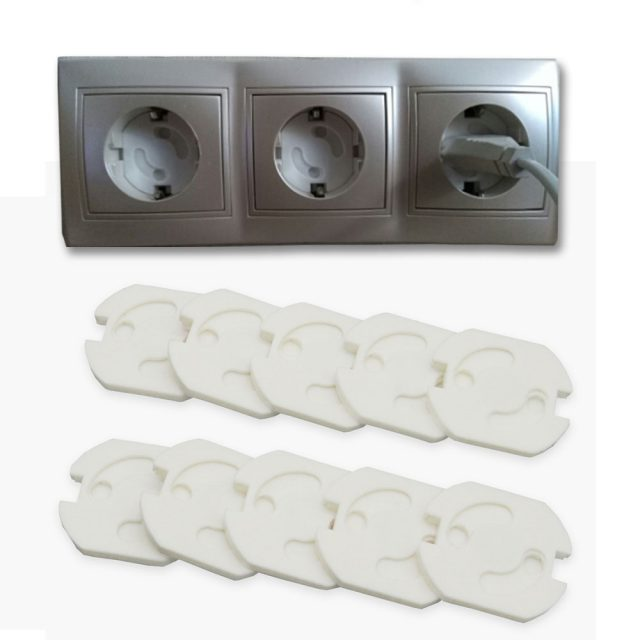 10 Pieces of Baby's Safety Socket Cover