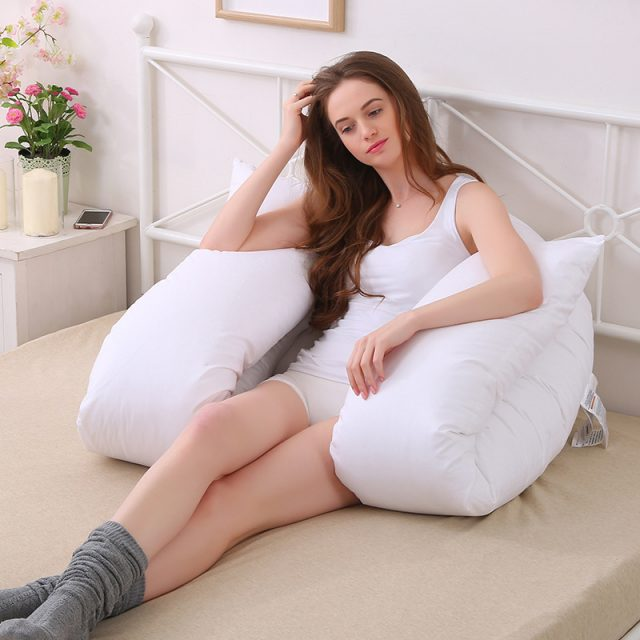 Multifunctional Maternity Big U-Shaped Body Pillow
