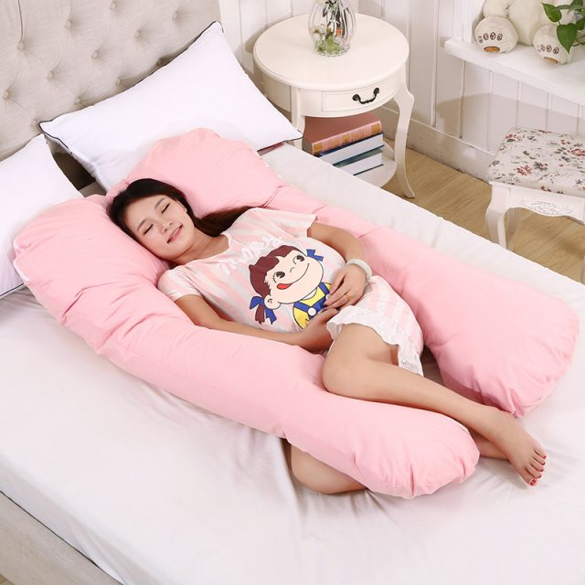 U-Shaped Sleeping Pillow for Pregnant Women