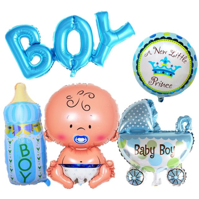 Baby Shower Party Decor Inflatable Baloons Set