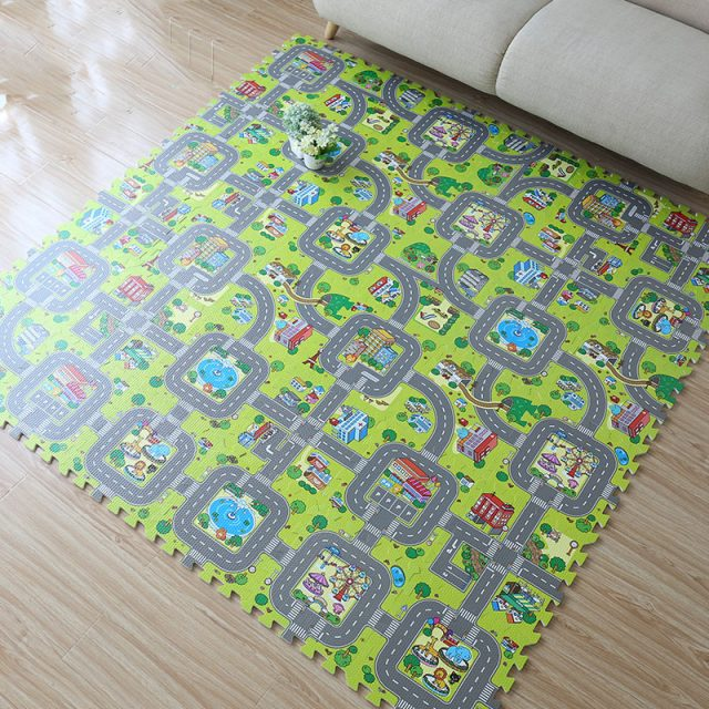 Cute Entertaining Educational Kid's Play Mat
