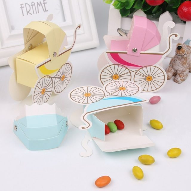 Baby Shower Favor Candy Boxes Set