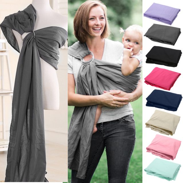 Breathable Cotton Wrap Baby Carrier