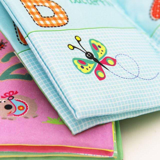 Amusive Educational Cloth Baby Book