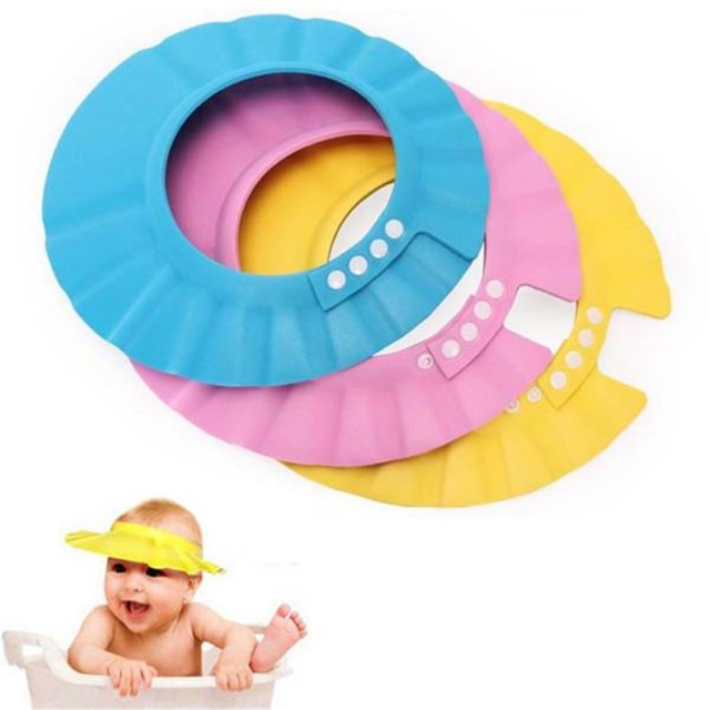 Baby's Shower Soft Protect Cap
