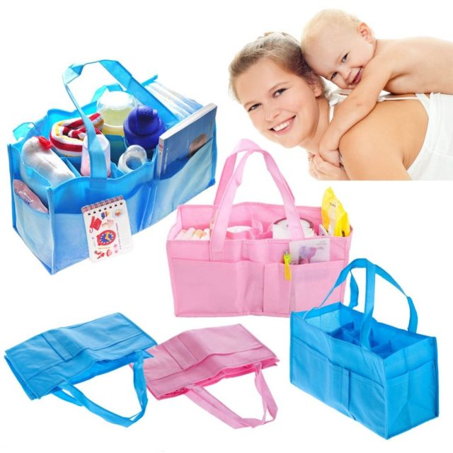 Multifunctional Large Capacity Nappy Changing Handbag