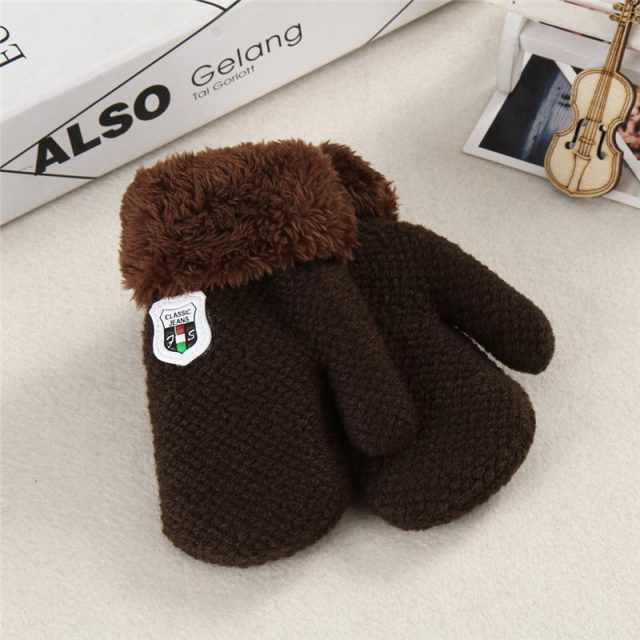 Extra Warm Knitted Gloves