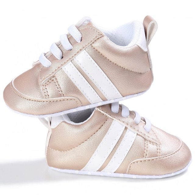 Cute Comfortable Soft Leather Baby Sneakers