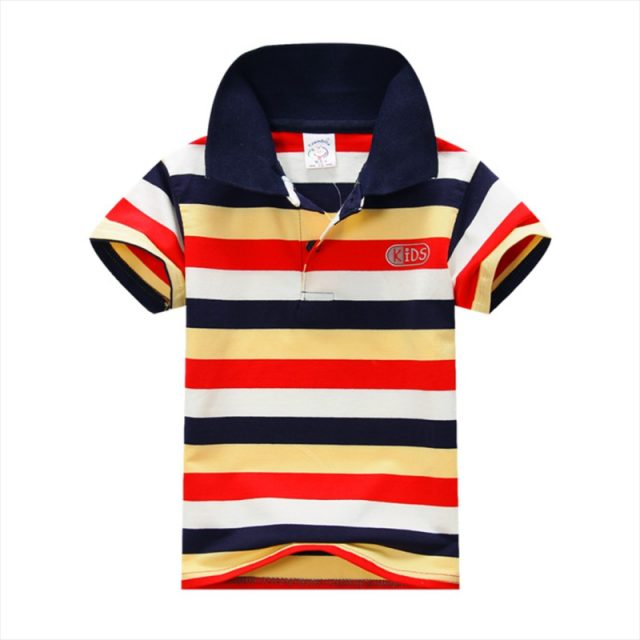 Kid's Casual Striped T-Shirt