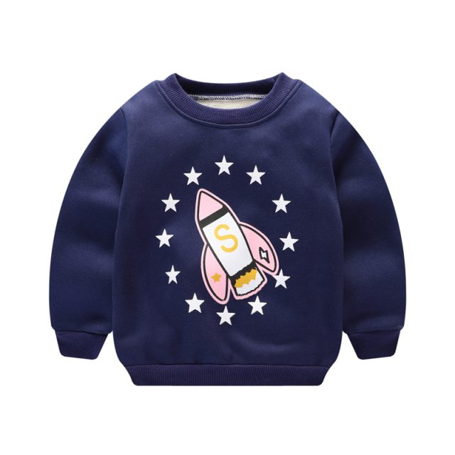 Baby Boy's Cotton Bear Printed Sweatshirts